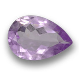 thumb image of 3.1ct Pear Facet Violet Amethyst (ID: 460341)