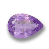 thumb image of 3.4ct Pear Facet Violet Amethyst (ID: 460423)