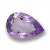 thumb image of 3.5ct Pear Facet Violet Amethyst (ID: 460427)