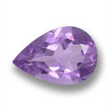 thumb image of 3.5ct Pear Facet Violet Amethyst (ID: 460430)