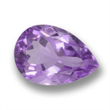 thumb image of 4.2ct Pear Facet Violet Amethyst (ID: 460434)