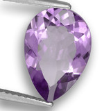 thumb image of 3.2ct Pear Facet Violet Amethyst (ID: 460484)