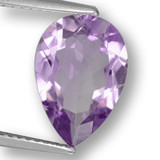 thumb image of 3ct Pear Facet Violet Amethyst (ID: 460485)