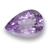 thumb image of 3.5ct Pear Facet Violet Amethyst (ID: 460493)