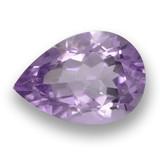 thumb image of 3.7ct Pear Facet Violet Amethyst (ID: 460494)