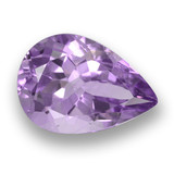 thumb image of 3.6ct Pear Facet Violet Amethyst (ID: 460524)