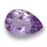 thumb image of 3.1ct Pear Facet Violet Amethyst (ID: 460530)