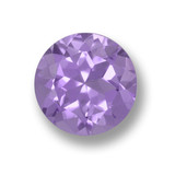 thumb image of 2.5ct Round Facet Violet Amethyst (ID: 460592)