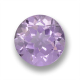 thumb image of 2.8ct Round Facet Violet Amethyst (ID: 460642)