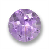 thumb image of 2.6ct Round Facet Violet Amethyst (ID: 460643)
