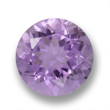 thumb image of 3ct Round Facet Violet Amethyst (ID: 460650)