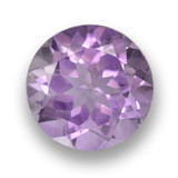 thumb image of 2.6ct Round Facet Violet Amethyst (ID: 460688)