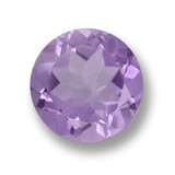 thumb image of 3.1ct Round Facet Violet Amethyst (ID: 460734)