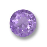 thumb image of 2.8ct Round Facet Violet Amethyst (ID: 460832)