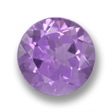 thumb image of 3.8ct Round Facet Violet Amethyst (ID: 460870)