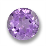 thumb image of 3.7ct Round Facet Violet Amethyst (ID: 460877)