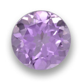 thumb image of 2.5ct Round Facet Violet Amethyst (ID: 460907)