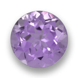 thumb image of 2.5ct Round Facet Violet Amethyst (ID: 460915)