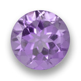 thumb image of 2.5ct Round Facet Violet Amethyst (ID: 460916)