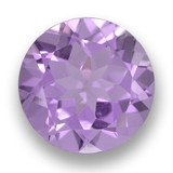 thumb image of 3.2ct Round Facet Violet Amethyst (ID: 460937)