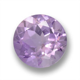 thumb image of 2.5ct Round Facet Violet Amethyst (ID: 460971)
