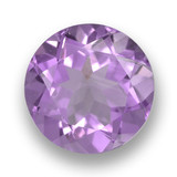thumb image of 2.5ct Round Facet Violet Amethyst (ID: 461116)
