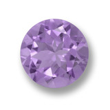 thumb image of 3ct Round Facet Violet Amethyst (ID: 461197)