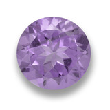 thumb image of 2.5ct Round Facet Violet Amethyst (ID: 461203)