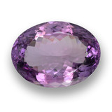 thumb image of 47.7ct Oval Portuguese-Cut Violet Amethyst (ID: 461385)