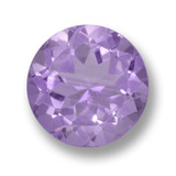 thumb image of 4.3ct Round Facet Violet Amethyst (ID: 462468)