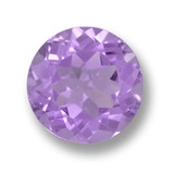 thumb image of 4.9ct Round Facet Violet Amethyst (ID: 462610)