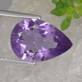 thumb image of 3.8ct Pear Facet Violet Amethyst (ID: 463344)