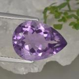thumb image of 4.6ct Pear Facet Violet Amethyst (ID: 463348)