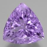 thumb image of 19.2ct Trillion Facet Violet Amethyst (ID: 463435)
