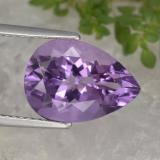 thumb image of 4.7ct Pear Facet Violet Amethyst (ID: 463464)