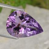 thumb image of 4.2ct Pear Facet Violet Amethyst (ID: 463467)