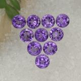 thumb image of 1.5ct Round Facet Violet Amethyst (ID: 468944)