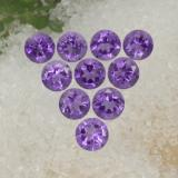 thumb image of 1.5ct Round Facet Violet Amethyst (ID: 468947)