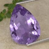 thumb image of 6.5ct Pear Facet Violet Amethyst (ID: 475668)