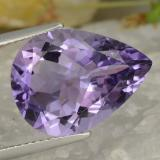 thumb image of 6.5ct Pear Facet Violet Amethyst (ID: 475824)