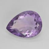 thumb image of 6.7ct Pear Facet Violet Amethyst (ID: 476070)