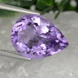 thumb image of 7.1ct Pear Facet Violet Amethyst (ID: 476238)