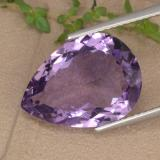thumb image of 6.6ct Pear Facet Violet Amethyst (ID: 476422)