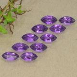 thumb image of 0.3ct Фасетная Маркиза Intense Violet Аметист (ID: 493621)