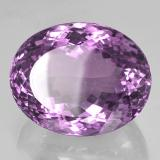 53.03 ct Ovale taglio portoghese Medium Violet Ametista Gem 25.71 mm x 20.4 mm (Photo B)