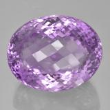 thumb image of 67.4ct Oval Checkerboard Pinkish Violet Amethyst (ID: 506009)
