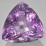 thumb image of 87.3ct Trillion Checkerboard Violet Amethyst (ID: 506011)