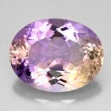 thumb image of 12.7ct Oval Facet Bi-Color Ametrine (ID: 330527)