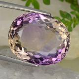 thumb image of 19.5ct Oval Facet Bi-Color Ametrine (ID: 389081)