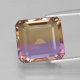 thumb image of 6.4ct Octagon Facet Bi-Color Ametrine (ID: 400356)